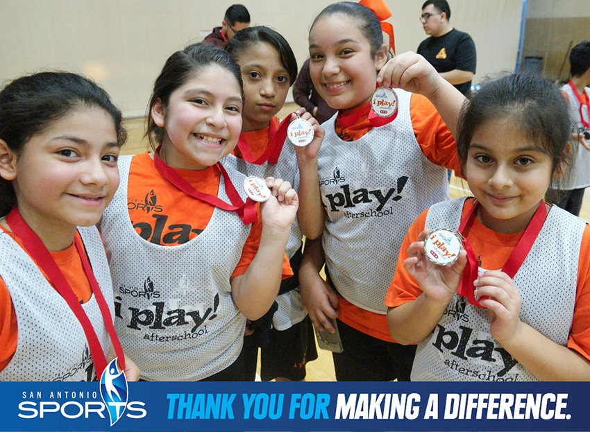 Donate to San Antonio Sports to change lives in our community