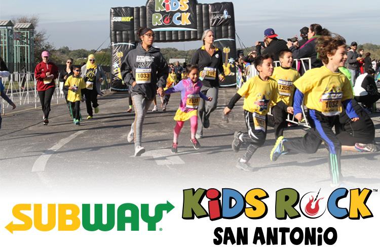 Subway Kids Rock San Antonio