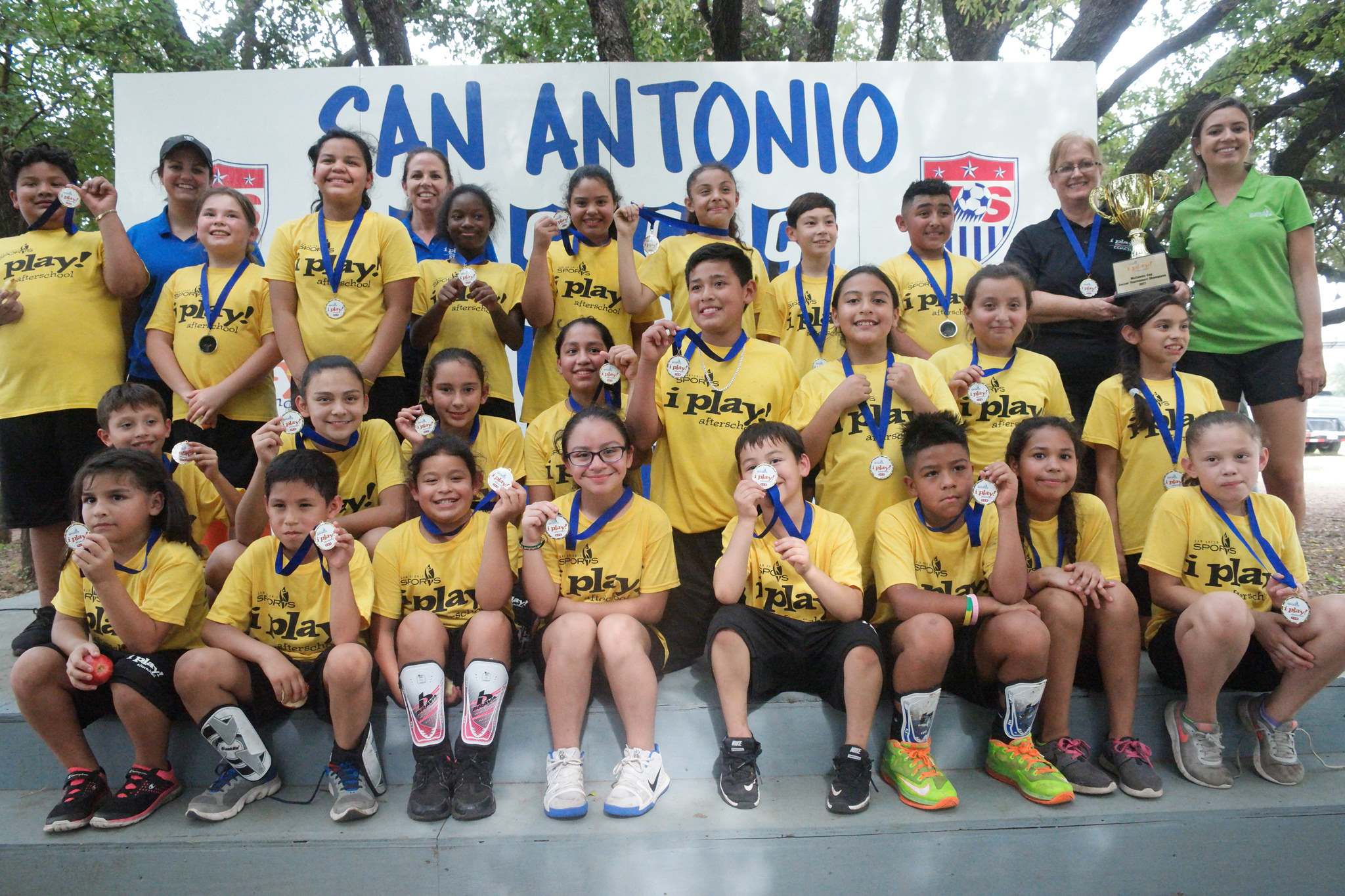 I Play Afterschool Students Get A Kick Out Of Soccer San Antonio