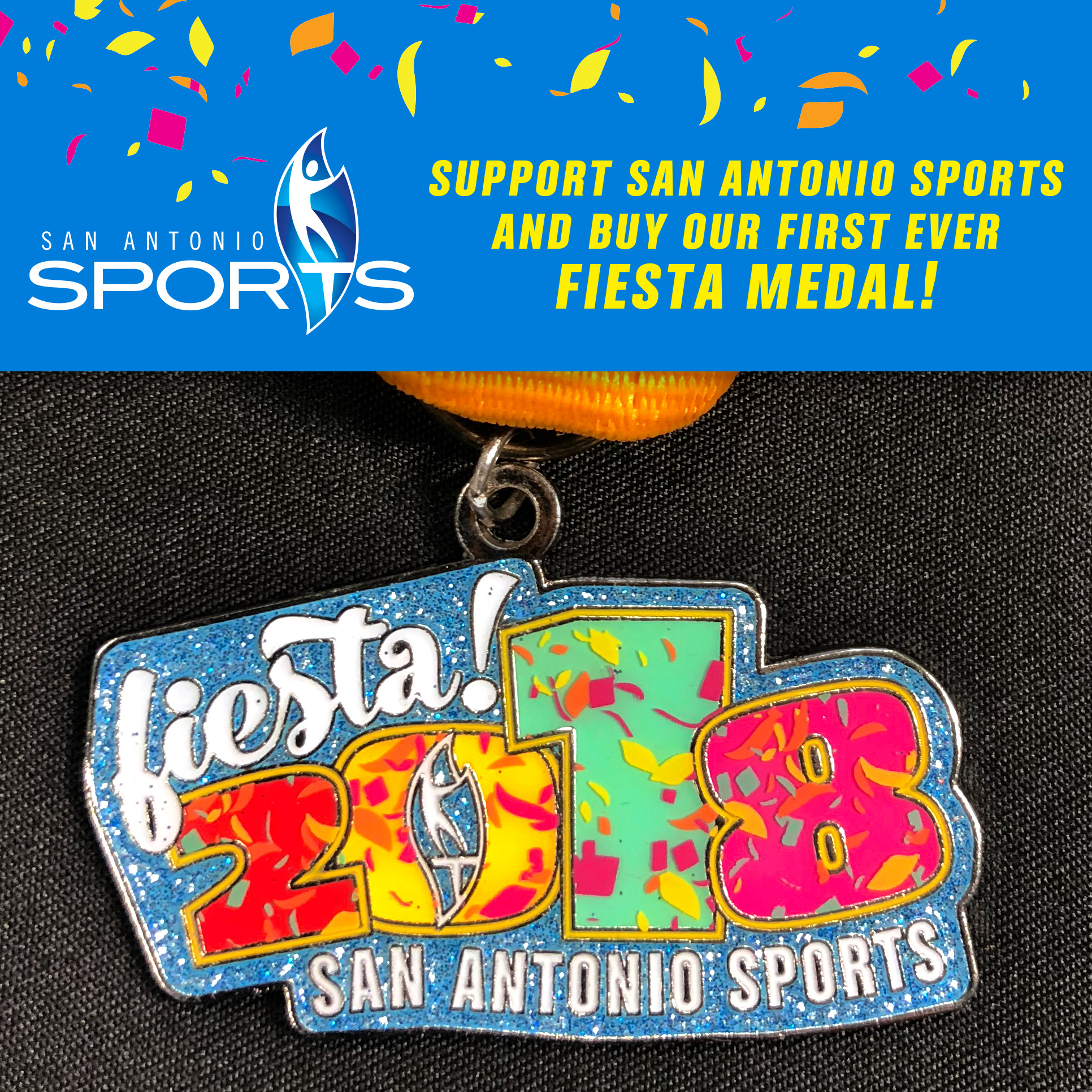 Posted On March 19 2018 By San Antonio Sportegories Fiesta Medal