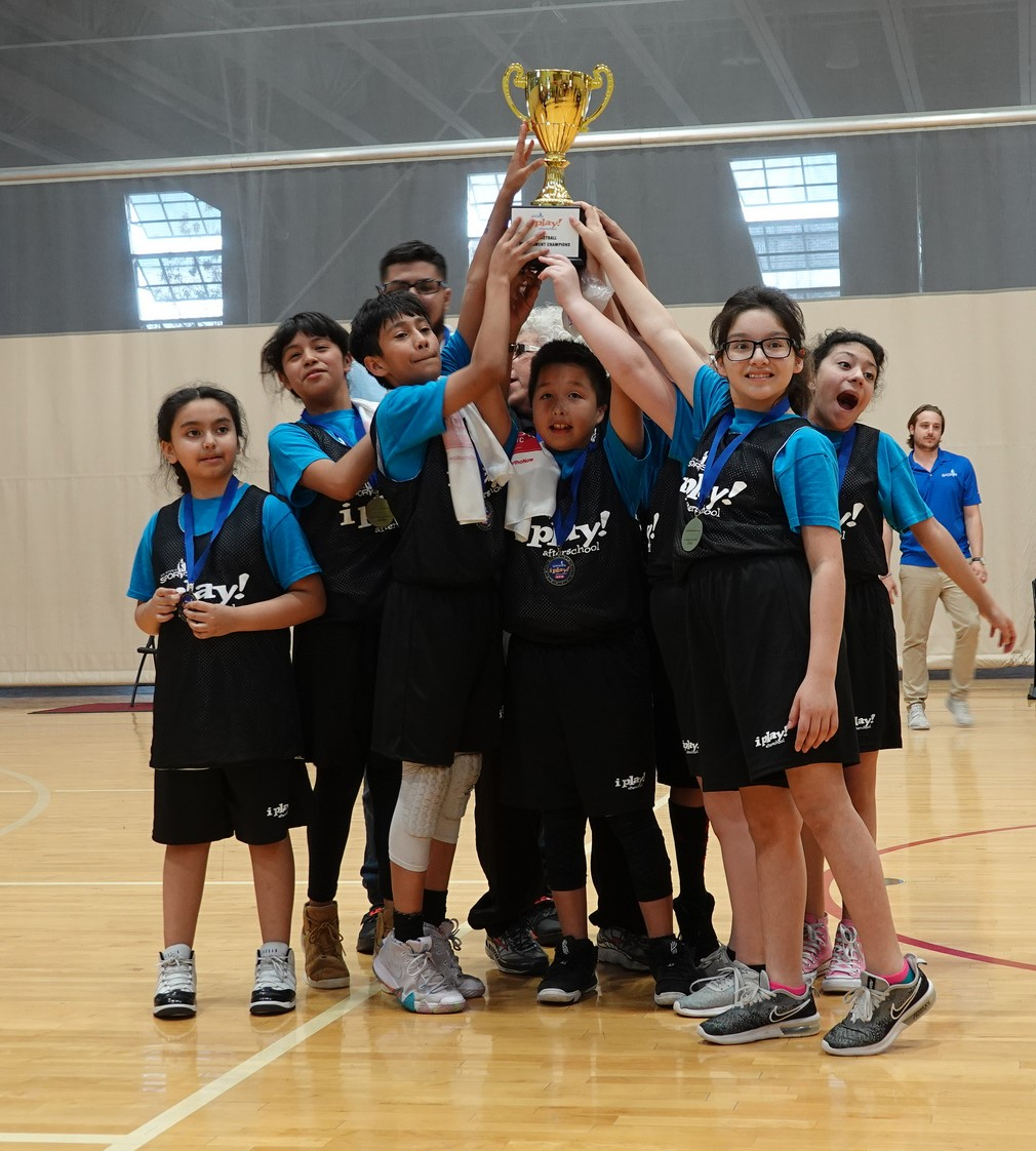 I Play Afterschool Athletes Wrap Up Basketball Unit With