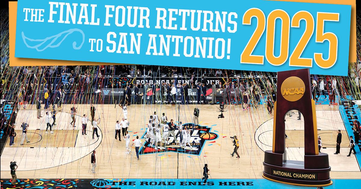 San Antonio Named Site For 2025 Ncaa 174 Men S Final Four
