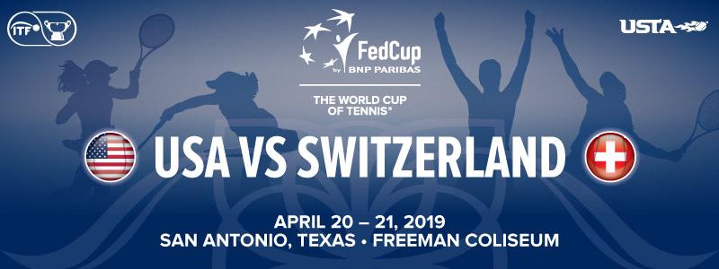 Represent U S In 2019 Fed Cup